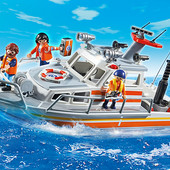 Игровой набор спасательный катер Playmobil 5540
