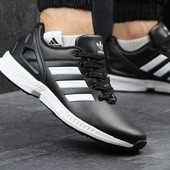 Кроссовки мужские Adidas Zx Flux black/white