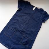 Модное джинсовые платье I Love Next 7-9 лет