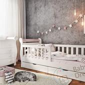 Подростковая кровать с бортиками от 3-4 лет Miss Secret
