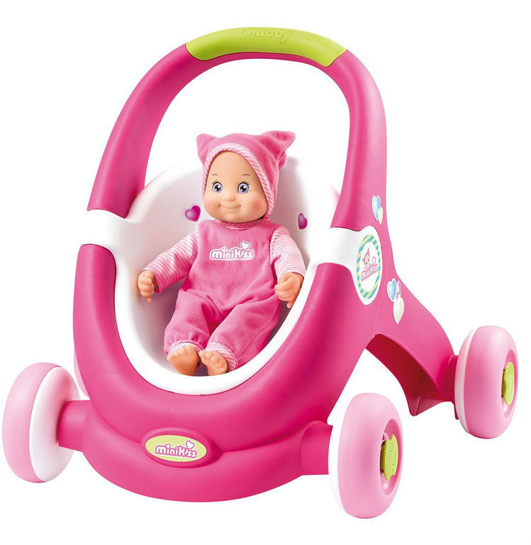 Ходунки - коляска для куклы Minikiss Smoby 210201 фото №1