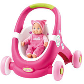 Ходунки - коляска для куклы Minikiss Smoby 210201