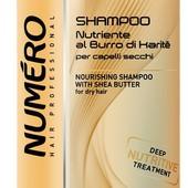 Новинка!!! Шампунь для волос Numero с маслом Карите из канистры 10л. на розлив