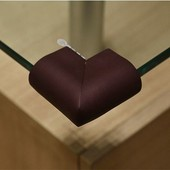 Уголки накладки мягкие вспененные подходят на стеклянный стол
