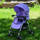 Коляска детская прогулочная Bambi M 3457-9, фиолетовая ****