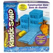 kinetic Sand кинетический песок Зона строительства construction zone wacky-tivities