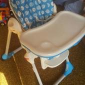 Стульчик для кормления Chicco Polly 2 в 1, стілець, годування, стул, чико, чикко, полли