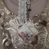 вечернее выпускное коктейльное золотое платье Mismash