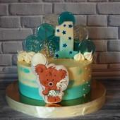 Торт на первый День рождение!