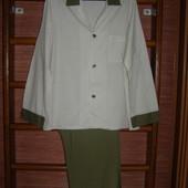 Пижама хлопковая, мужская, размер L