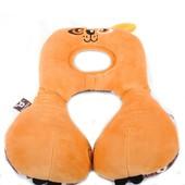 Деткая ортопедическая подушка Travel friends коричневый 4019923