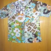 красивая блузка-рубашка 4-6л