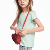 Футболка H&M для девочек 6-8, 8-10 лет