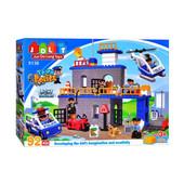 Конструктор (аналог лего дупло, lego duplo) Полицейский участок JDLT 5136