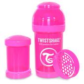 Бутылочка антиколиковая 180 мл. Twistshake 78001 Швеция розовый 12124846