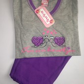 Пижама для девочки на рост 122