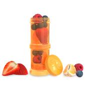 Набор контейнеров для еды 2 шт. Twistshake 78025 Швеция оранжевый 12124870
