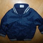 F&F стильная куртка-ветровка на мальчика 3-6 мес