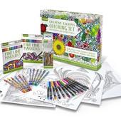 Crayola Подарочный набор для творчества взрослым adult coloring book & marker art activity set