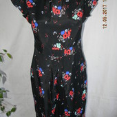 Вискозное летнее платье
