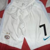 Спортивние футбольние шорти туси оригинал nike ф.к ПСВ.s-m