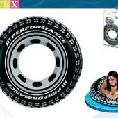 Надувной круг Шина Intex 59252