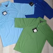 Классные мужские футболки-поло Dry Fiber Dynamics от Ping, р. xs, m