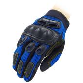 Мотоперчатки текстильные с закрытыми пальцами и протектором Scoyco MC01-B