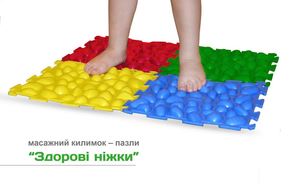 Ортопедические массажные коврики детские фото №1