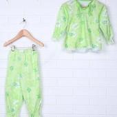 Пижама кофта и брюки  на рост 86-92 см. от  Легрито девочке