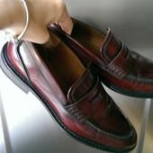 Туфли Zara, кожаные, 38 р, 24.3-24.7 см стелька