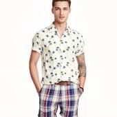 Летняя рубашка Н&М, S