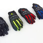 Мотоперчатки текстильные с закрытыми пальцами Scoyco MC29-B: 4 цвета
