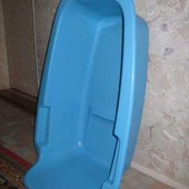 Ванна СовпластИтал Узбекистан очень прочная 60*30*17 см состояние отличное