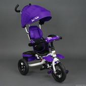Велосипед Best Trike с музыкальной панелью фиолетовый