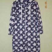 Флисовый слип, пижама, домашний костюм Peacocks размер s, большемерит