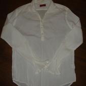 Фирменная Zara мужская рубашка хлопок на 46 размер идеал