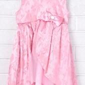 Распродажа - Нарядное Платье на рост 86 см. розовое от  ЛюМер платице девочке