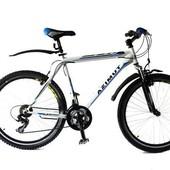 Горный спортивный велосипед 29 дюймов 21 рама Azimu Energy (оборудование shimano) белый***