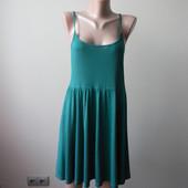 Легчайшее летнее платье на тонких бретельках.  Тренд сезона