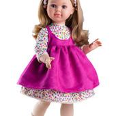 Шарнирная кукла Альма в розовом Paola Reina 60см