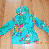 Красивая куртка-ветровка Next для девочки 8 лет. 128 см