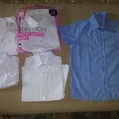 новые рубашки с Англии с 3лет и до 18лет