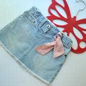 Юбка джинс F&F (1,5-2 года)-