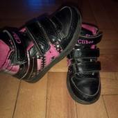 Высокие кроссовки,хайтопы Clibee,очень хор сост.стелька 17,3 см