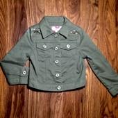 Стильная джинсовая курточка
