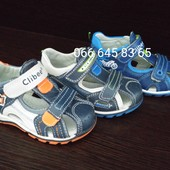 Босоножки, сандалии Clibee нат. кожа р. 25-30