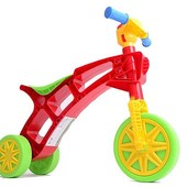 Роллоцикл 3 колеса Технок 3831 ролоцикл беговел красно-зеленый
