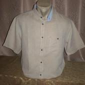 Хлопковая рубашка 50-52 размера