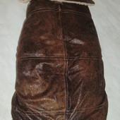 Wouapy теплая дубленка (дл.сп. 38 см)